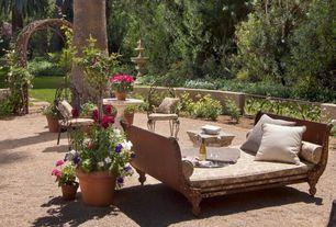 Mediterranean Patio with Arbor