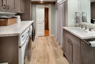 Traditional Laundry Room with Pental aspen honed marble