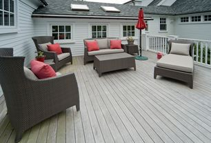 Traditional Deck with Palermo bronze outdoor furniture