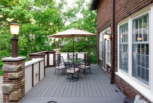 Tropical Deck with Pathway, French doors