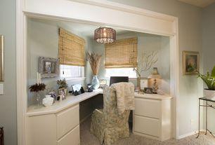 Traditional Master Bedroom with Avenue Lighting Vineland Avenue 6 Light Drum Chandelier