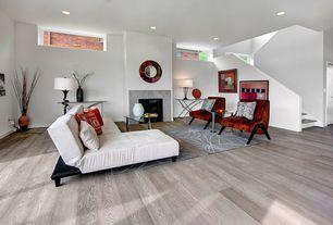Modern Living Room with Hardwood floors, Area rug modern carpet home decor family contemporary rugs online den room dorm