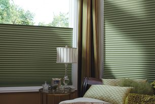 Traditional Master Bathroom with Smith and Noble Honeycomb Shades, Master bathroom