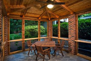 Screened In Porch Design Ideas image of screened in porch design ideas Traditional Porch With Fence Screened Porch Exterior Stone Floors