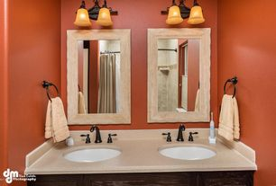 Contemporary Master Bathroom with Hitchcock Butterfield Company Antique Weathered Grey / Grey Liner Framed Wall Mirror