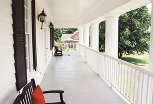Traditional Porch with Wrap around porch