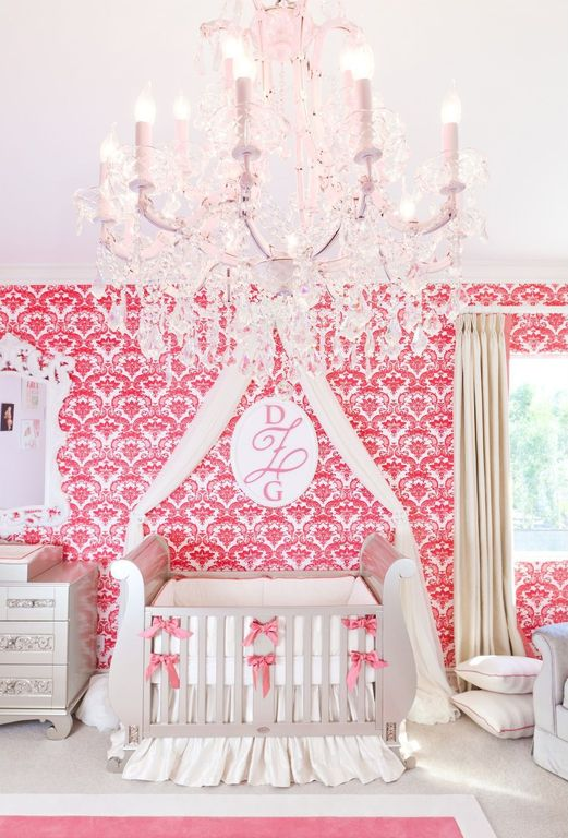 Traditional Kids Bedroom with no bedroom feature, Restoration Hardware Baby & Child Emelia Sleigh Crib, Carpet, Paint 2