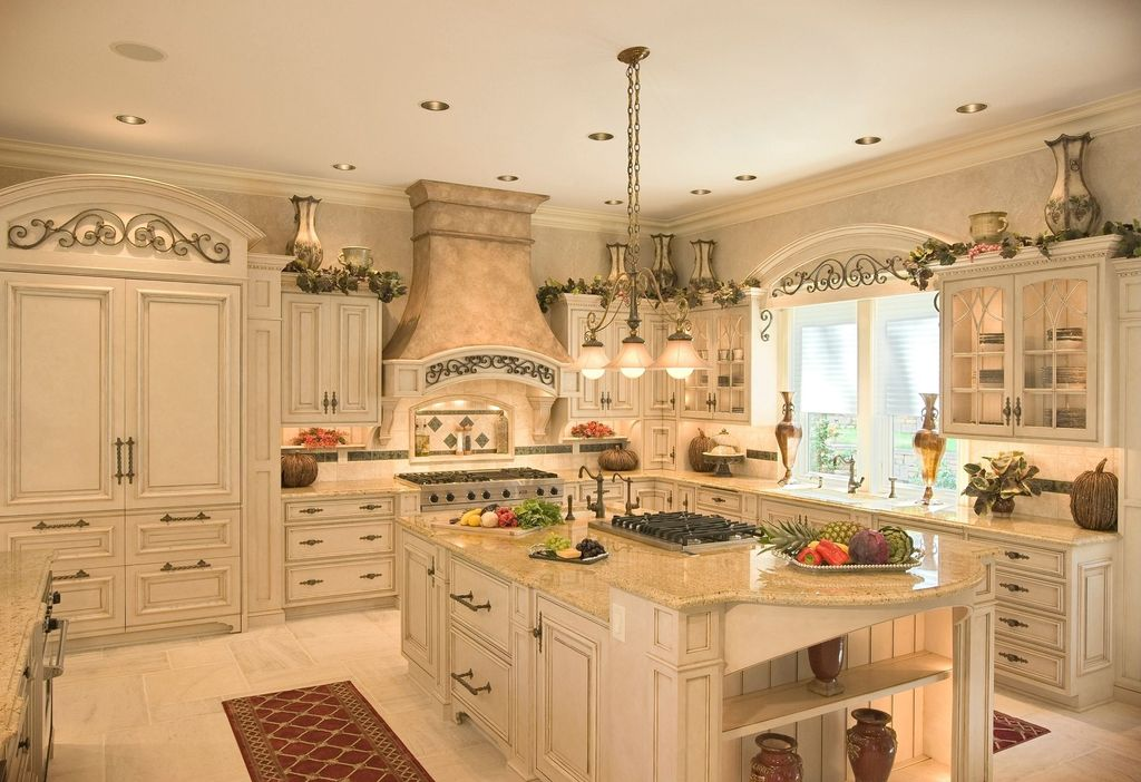 Great mediterranean kitchen zillow digs - French style kitchen decor ...