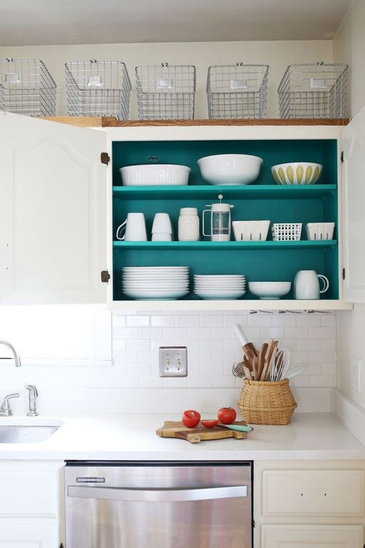 How to add storage to a kitchen zillow digs for Baskets on top of kitchen cabinets