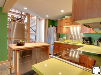 Contemporary Kitchen with Paint 1, Grevsta drawer front, stainless steel, Sektion base cabinet with drawers