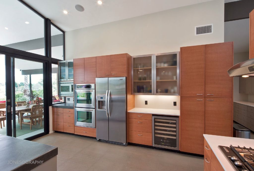 Contemporary Kitchen With Flush High Ceiling Zillow Digs