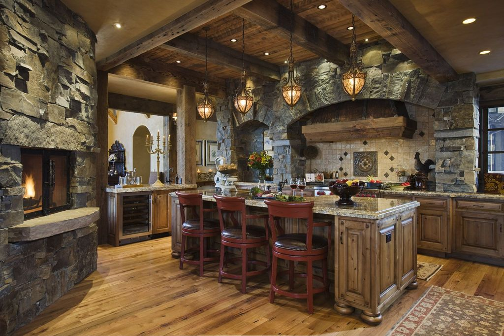 Rustic Log Home Kitchen Design Ideas also Beautiful Log Home Kitchen as well Country Rustic Kitchen Home also Kitchen Rustic Interior Design likewise Rustic Kitchen Ceiling Ideas. on rustic log home kitchen designs