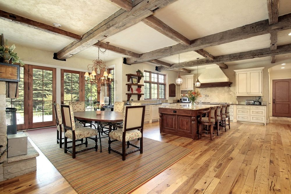 Traditional Kitchen With French Doors By Home Stratosphere