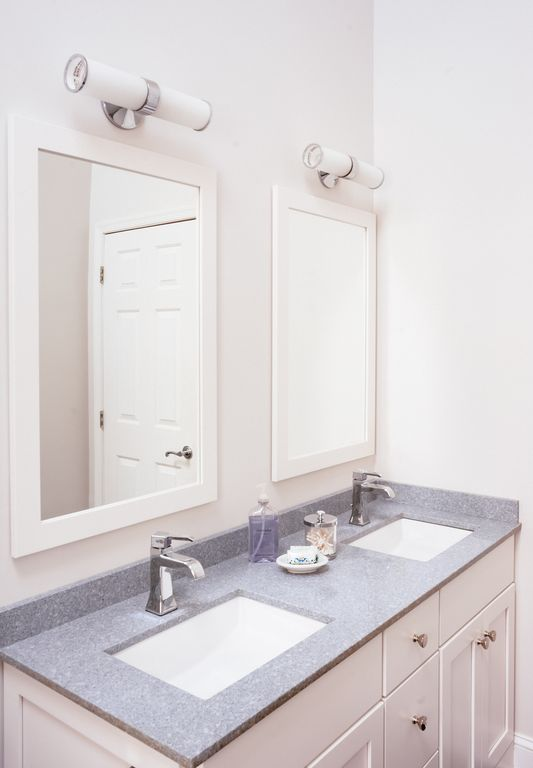 Vanity Mirror Light Bar : Contemporary Full Bathroom by Lisa Furey Zillow Digs