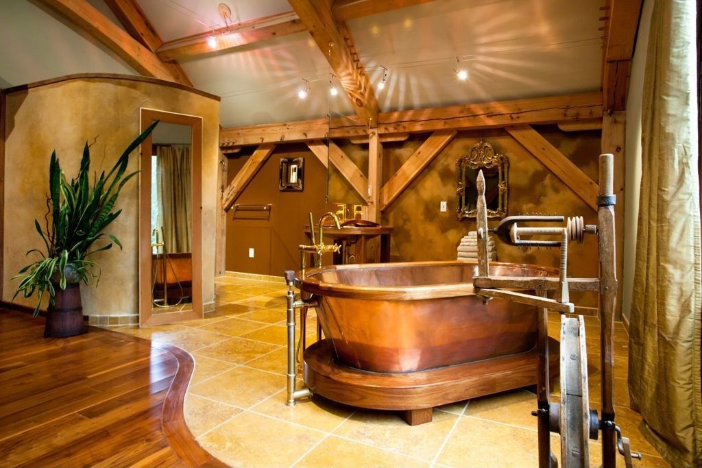 Great Rustic Master Bathroom Zillow Digs
