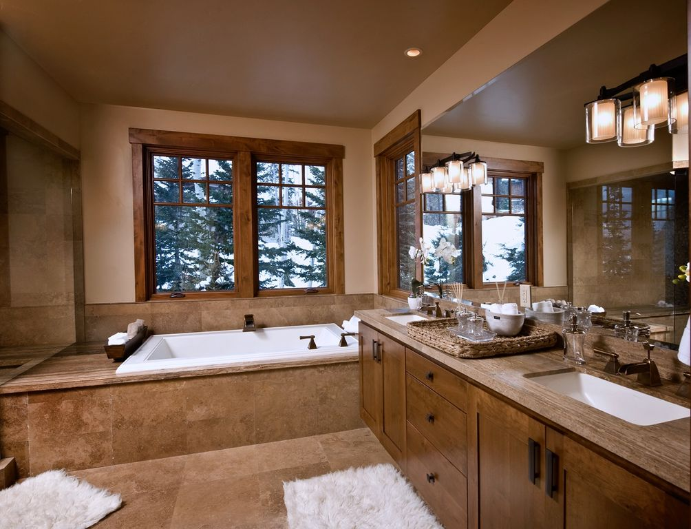 Great craftsman master bathroom zillow digs for Master bath pictures