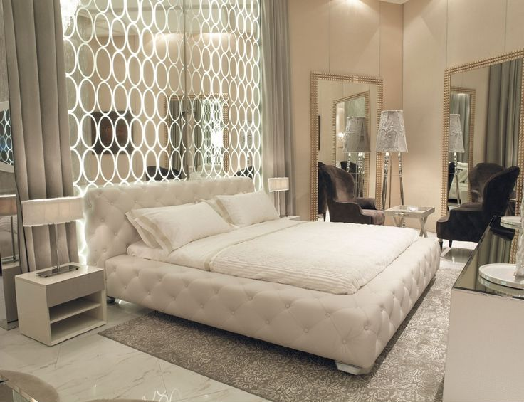 Art deco master bedroom with high ceiling simple marble for Art nouveau bedroom ideas