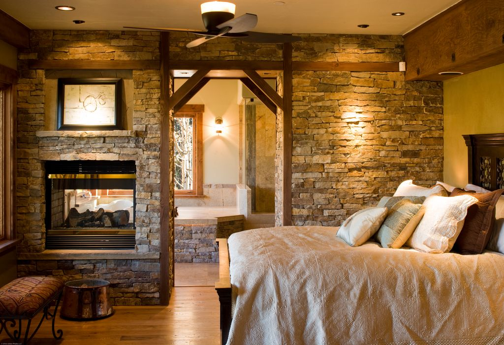 Great Rustic Master Bedroom