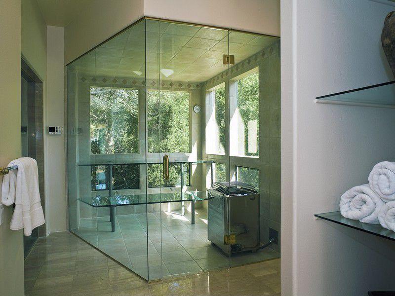 Contemporary master bathroom with master bathroom sauna for Bathroom designs zillow