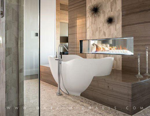 Contemporary Master Bathroom with