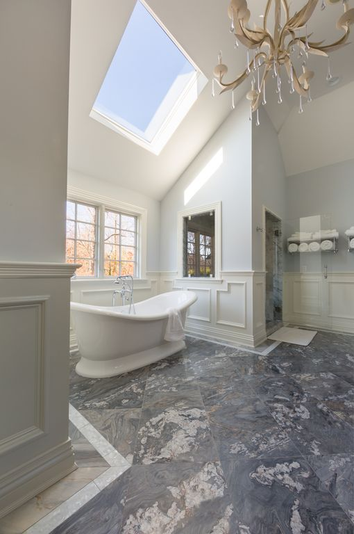 Traditional Master Bathroom By Artistic Tile