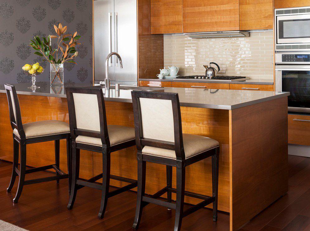 Modern Kitchen With One Wall By Tammara Stroud Design
