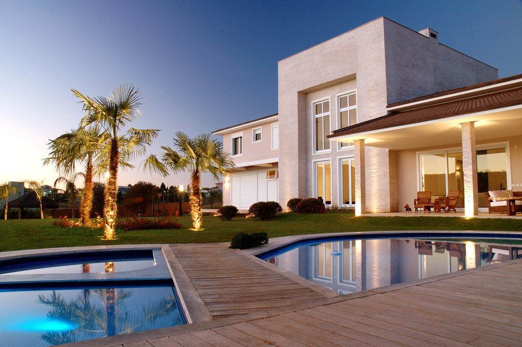 Contemporary Swimming Pool with sliding glass door, Casement, Pathway, picture window, Other Pool Type, Fence