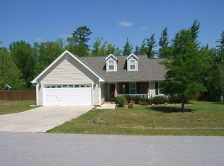 110 Whispering Winds Ln , Jacksonville NC