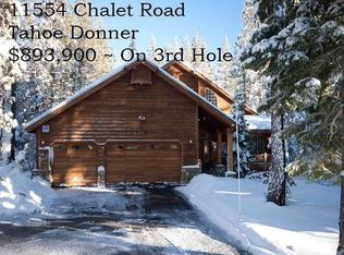 11554 CHALET RD , TRUCKEE CA