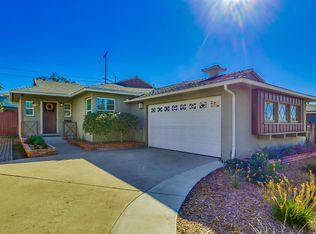 7095 Hillsboro St , San Diego CA