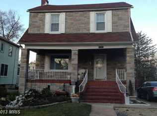 3208 Overland Ave , Baltimore MD