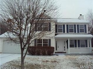 22 Bristol Valley Ct , Saint Peters MO