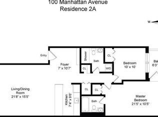 100 Manhattan Ave Apt 2A, New York NY