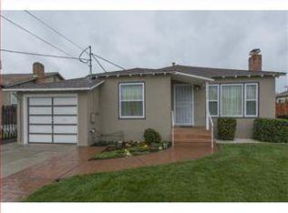 1008 Indian Ave , San Mateo CA