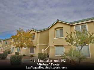 1421 Linnbaker Ln Unit 102, Las Vegas NV