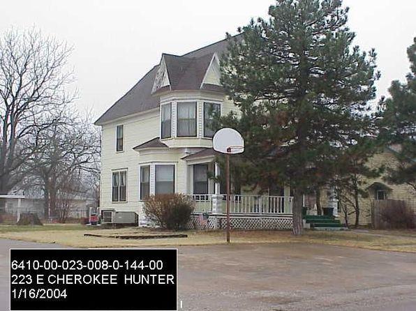 223 E Cherokee St, Hunter, OK