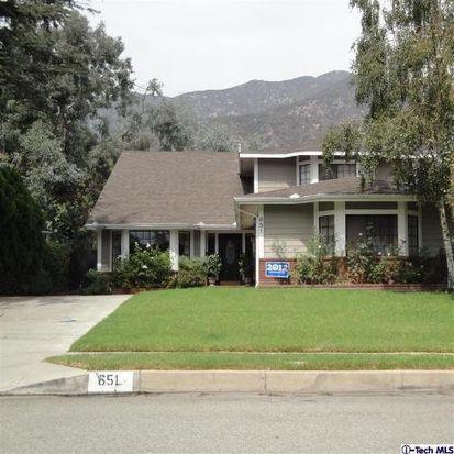 651 W Alegria Ave, Sierra Madre, CA 91024