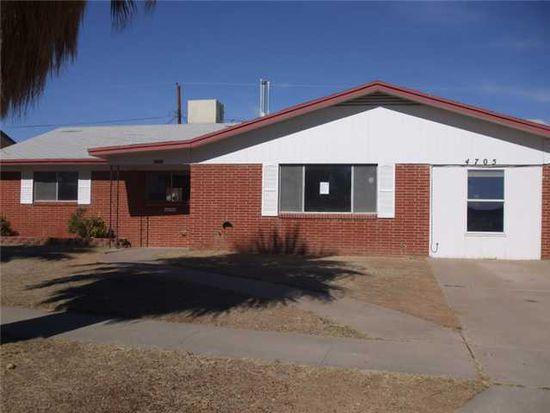 4705 Ambassador Dr, El Paso, TX 79924