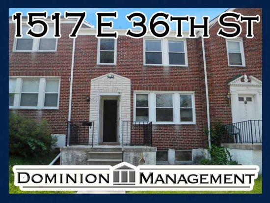 1517 E 36th St, Baltimore, MD 21218