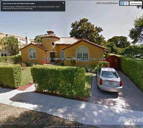 330 NE 126th St, North Miami, FL 33161