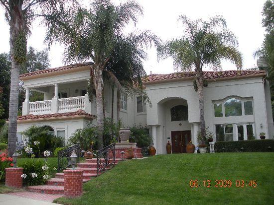 Chino California Houses House dr Chino Hills ca