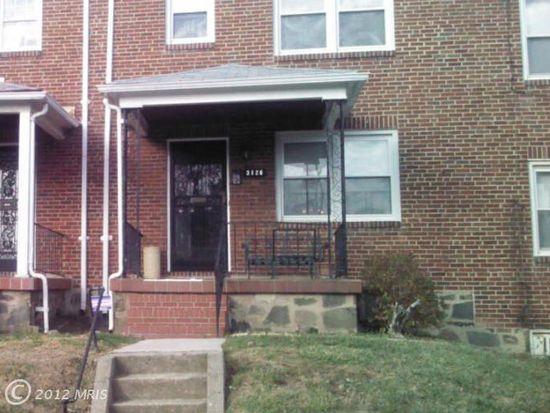 3126 Mondawmin Ave, Baltimore, MD 21216
