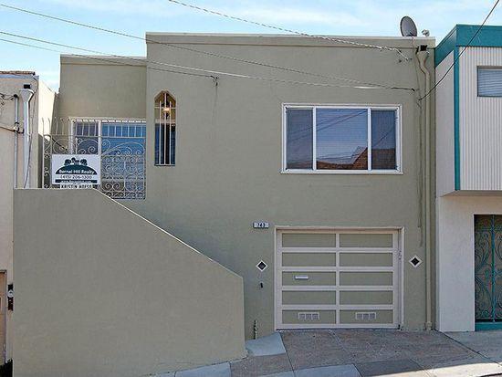 743 Ellsworth St, San Francisco, CA 94110