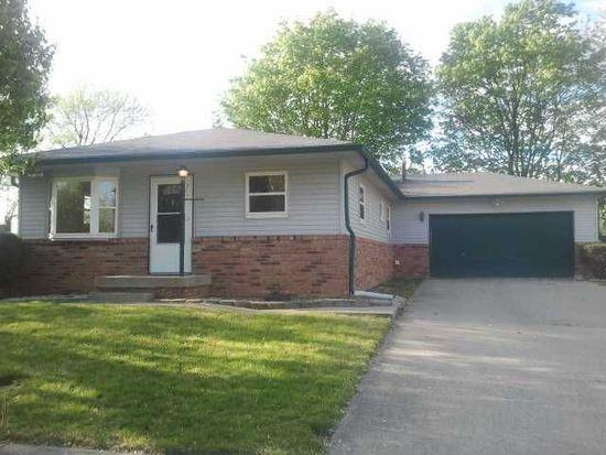 10222 Baribeau Ln, Indianapolis, IN 46229