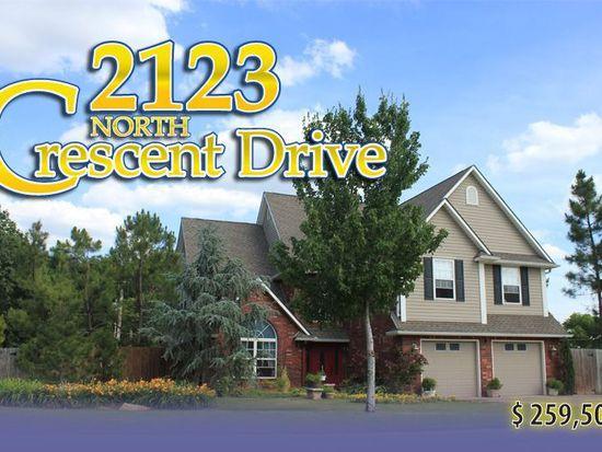 2123 N Crescent Dr, Stillwater, OK 74075