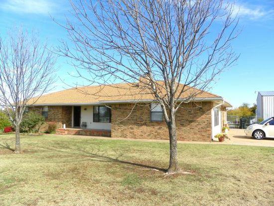 1303 S Oak Grove Rd, Cushing, OK 74023