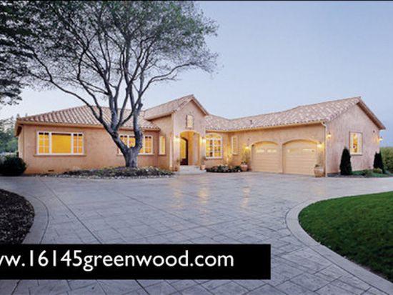 16145 Greenwood Rd, Monte Sereno, CA 95030