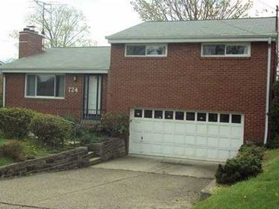724 Somerville Dr, Pittsburgh, PA 15243