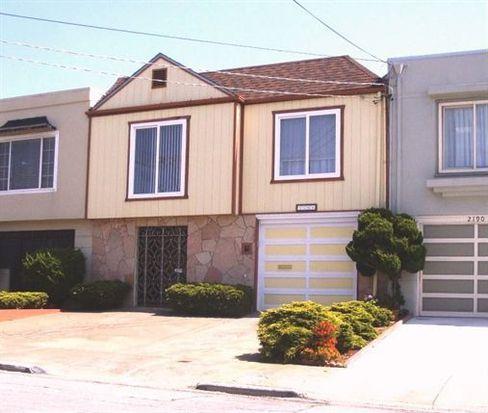 2186 43rd Ave, San Francisco, CA 94116
