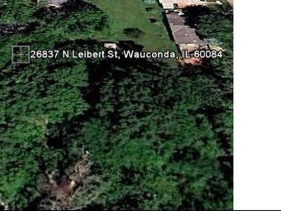 26837 N Leibert St, Wauconda, IL 60084